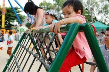 Tăng chiều cao cho trẻ bằng cách tập thể hình