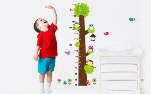 tăng trưởng chiều cao cho trẻ