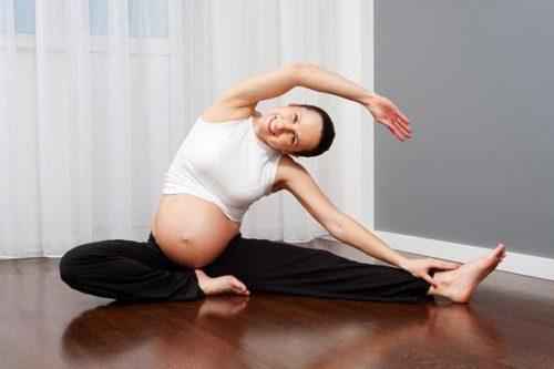 tập thể dục cho mẹ bầu