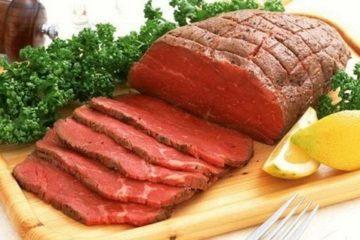 Thịt trâu, món ngon giúp bổ khí huyết