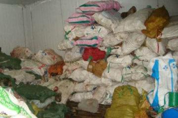 Phát hiện hơn 11 tấn thịt trâu bò không có chứng nhận kiểm dịch
