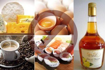 Thức ăn cần tránh khi mang thai