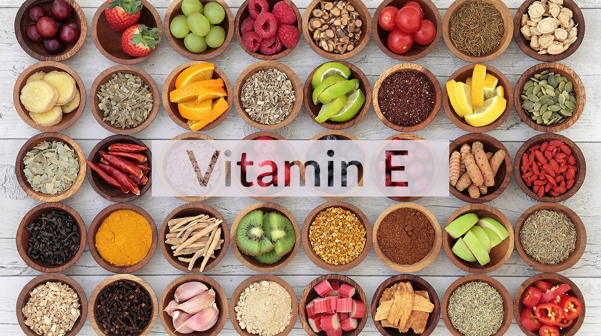Vitamin E từ thực phẩm