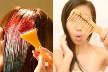 Những tác động tiêu cực của thuốc nhuộm tóc