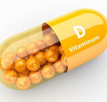 Mô phỏng viên thuốc Vitamin D