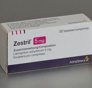 thuốc zestril 5mg