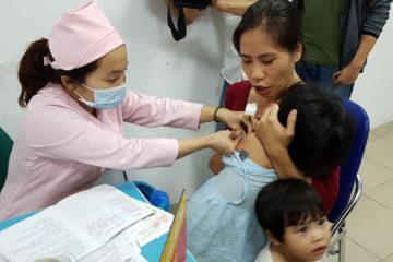 Tiêm phòng bệnh viêm não Nhật Bản cho trẻ miễn phí