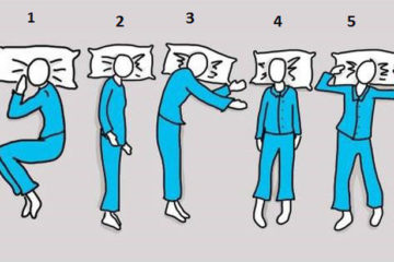 Các tư thế ngủ tốt cho sức khỏe