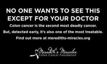Nâng cao nhận thức về ung thư ruột kết bằng quảng cáo gây sốc