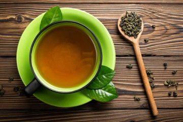 Gan nhiễm mỡ nên uống trà xanh