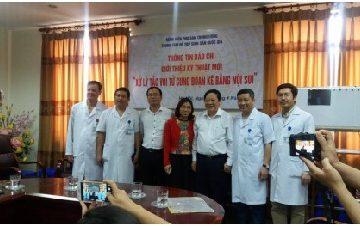 Việt Nam điều trị thành công vô sinh do tắc kẽ vòi tử cung