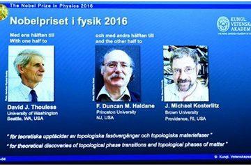 Vinh danh giải Nobel 2016 cho các nhà khoa học Pháp, Anh