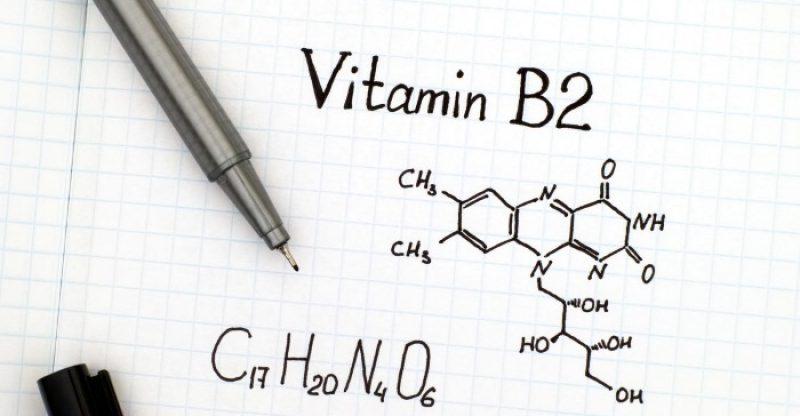 Công thức hóa học của Vitamin B2