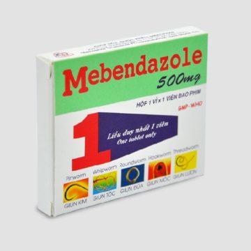 thuốc giun mebendazol