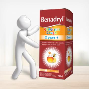 thuốc siro benadryl