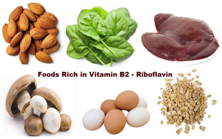 Thực phẩm giàu Vitamin B2 - Riboflavin
