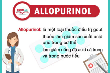 Hướng dẫn sử dụng thuốc Allopurinol – điều trị Gút