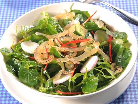 món ăn từ rau càng cua