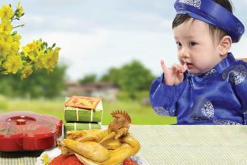 Dinh dưỡng cho bé trong dịp Tết Kỷ Hợi