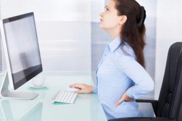 Ngăn ngừa đau lưng khi làm việc như thế nào ?