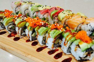 Có được ăn sushi trong chế độ ăn kiêng không ?