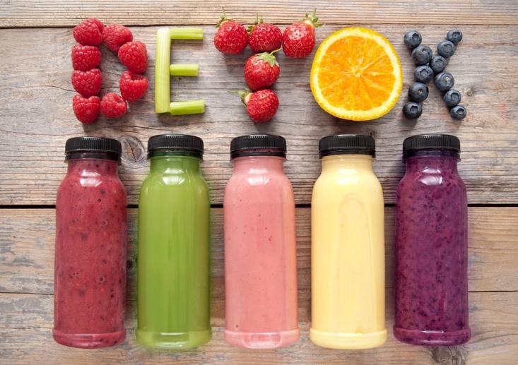 Nước hoa quả giúp thải độc