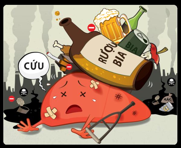 Bệnh xơ gan do rượu