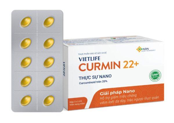 nano curcumin giảm triệu chứng trào ngược dạ dày thực quản