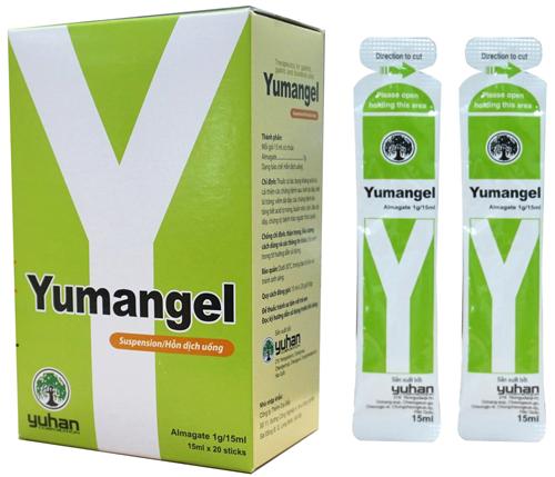 sản phẩm Yumangel điều trị bệnh dạ dày