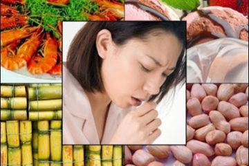 Người bị hen suyễn nên kiêng ăn gì