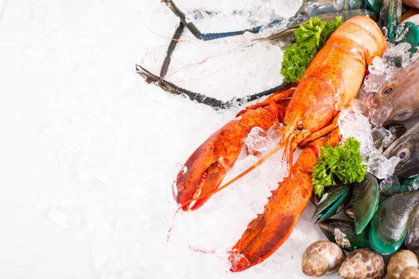 Hen suyễn hạn chế ăn hải sản