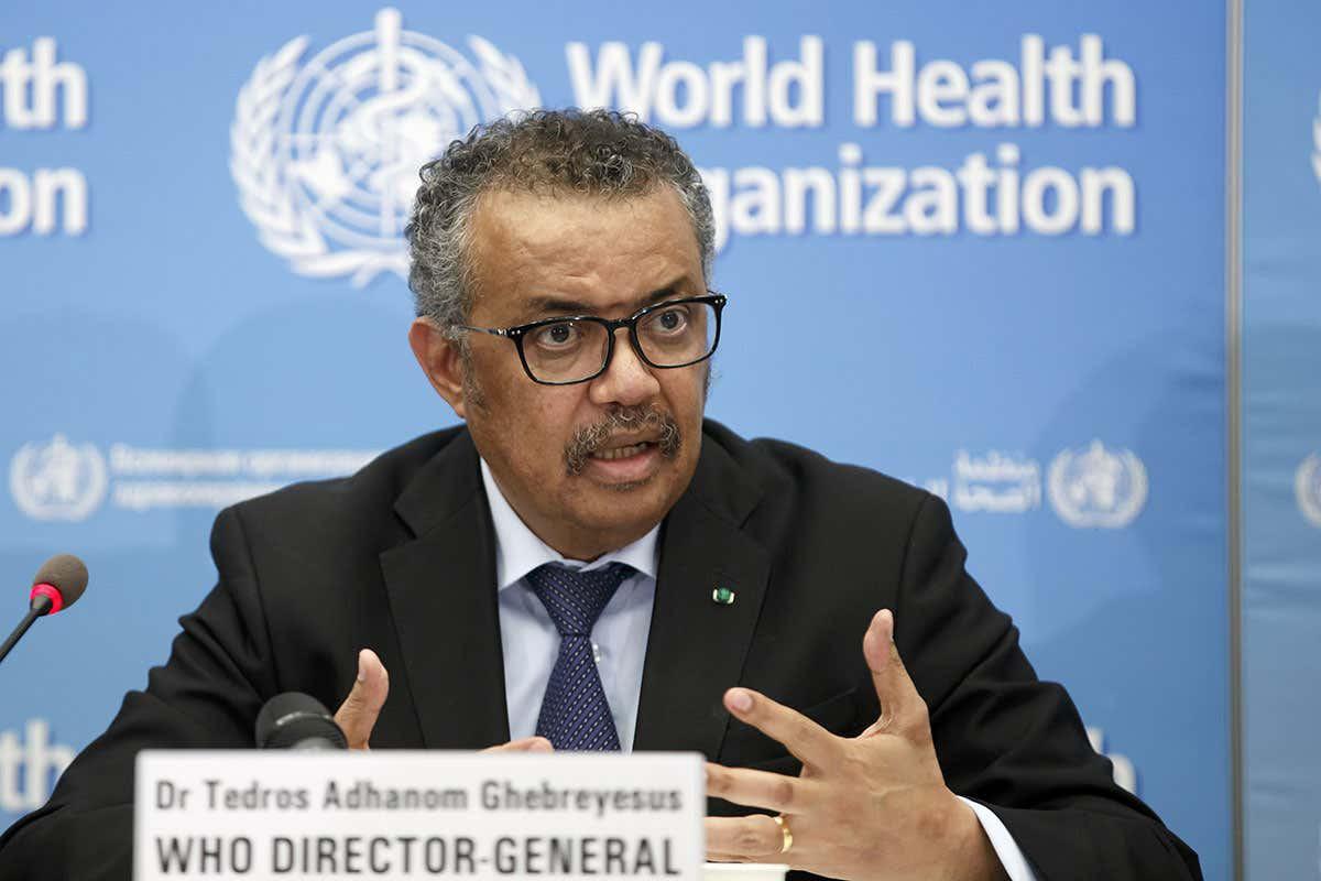 Tổng giám đốc WHO Tedros Adhanom Ghebreyesus tuyên bố dịch COVID-19 là đại dịch toàn cầu