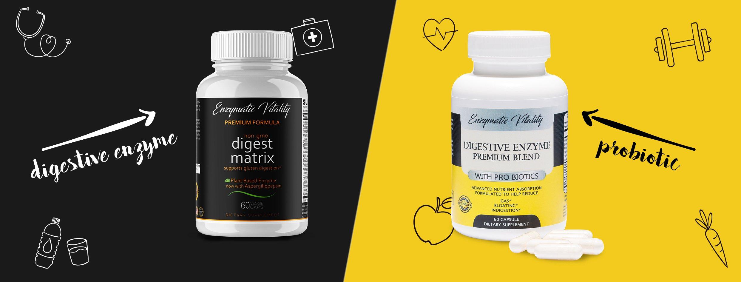 Probiotics and enzyms